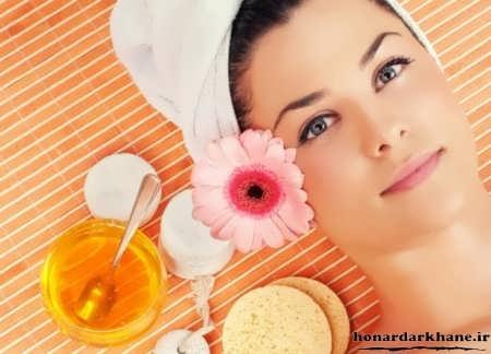 ماسک عسل برای پوست خشک