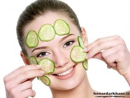 ماسک خیار برای پوست خشک