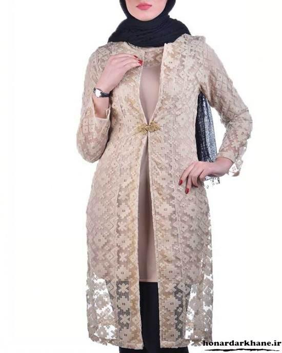 مدل مانتوهای گیپور زیبا و شیک