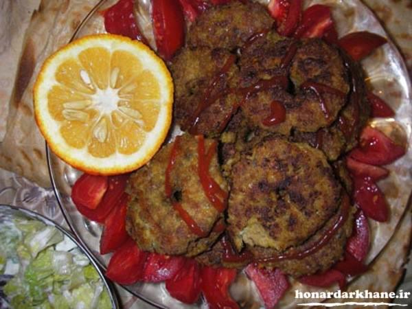 شامی کباب سفره افطار