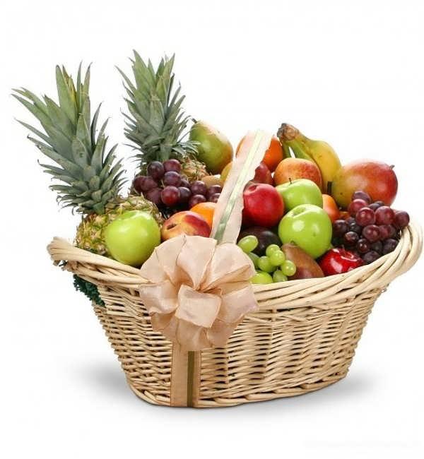 میوه آرایی در سبد