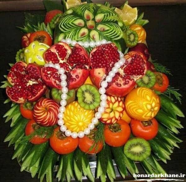 تزیینات میوه زیبا و شیک