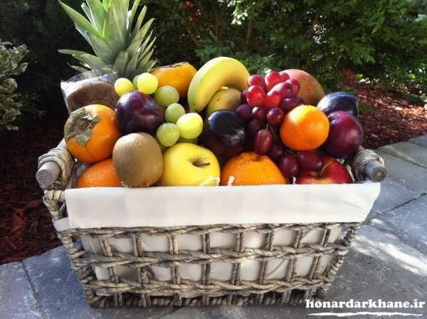 تزیینات میوه جدید و زیبا