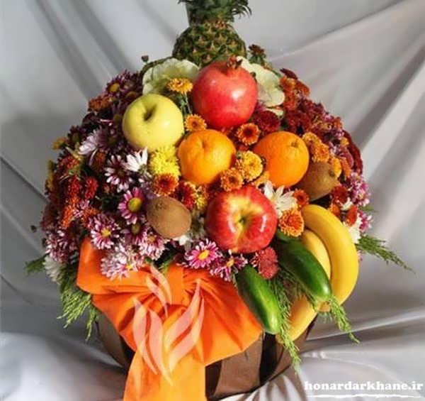 تزیینات جدید میوه در سبد