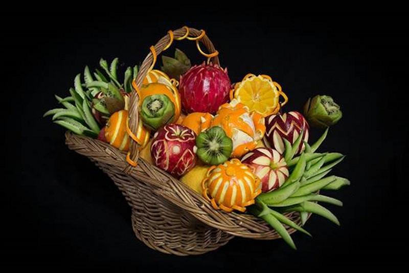تزیین سبد میوه و ظرف میوه با ایده های جدید و زیبایی در سایت چوپز