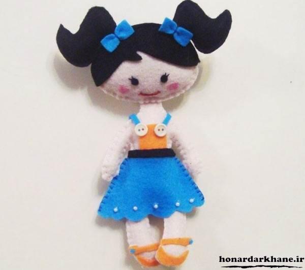 عروسک های نمدی دخترانه