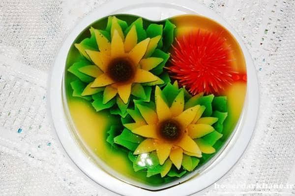 ژله تزریقی گل آفتابگردان