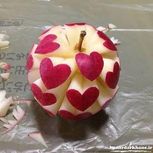 تزیین فانتزی سیب
