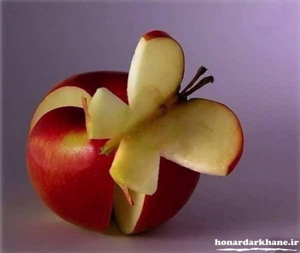 تزیین و دیزاین سیب