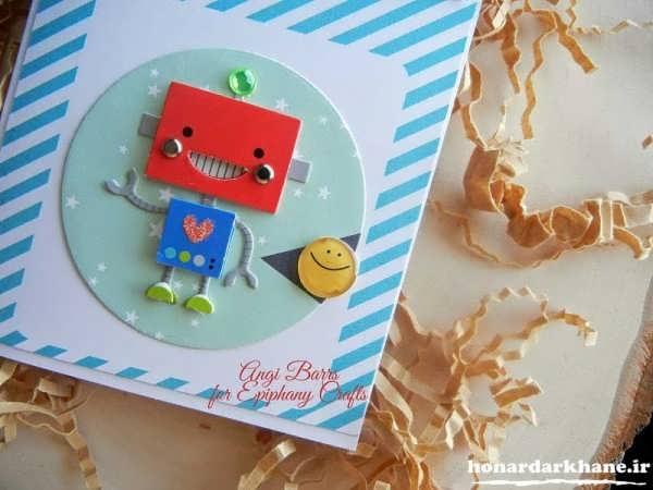 مدل کارت تولد دست ساز