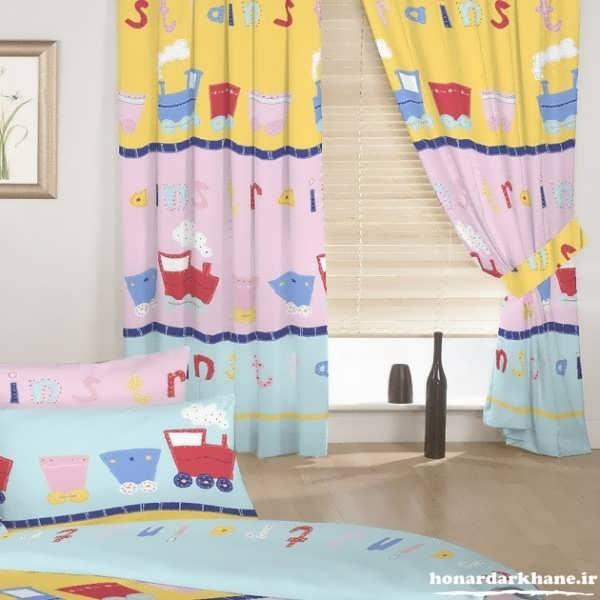 مدل پرده اتاق کودکان