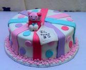 تزیین کیک با فوندانت و مدل های کیک تولد با خمیر فوندانت
