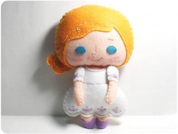 عروسک های جدید نمدی