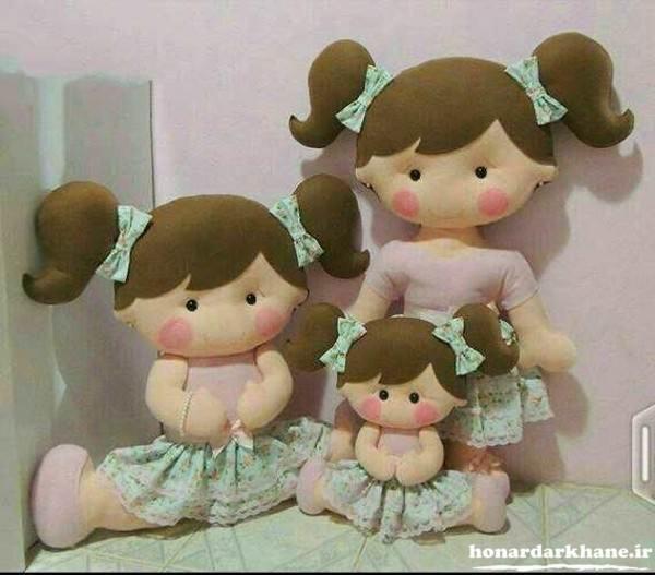 عروسک های جالب با نمد