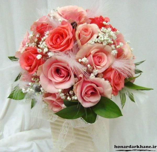 دسته گل شیک و جدید با گل رز