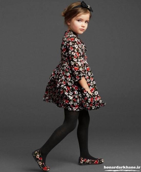 مدل لباس پاییزه بچگانه