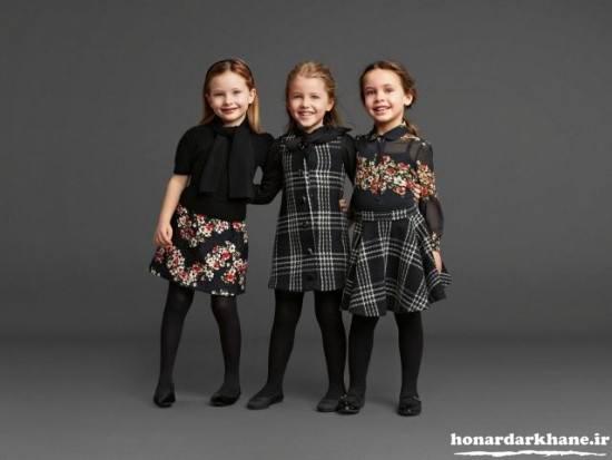 ست جدید لباس بچگانه