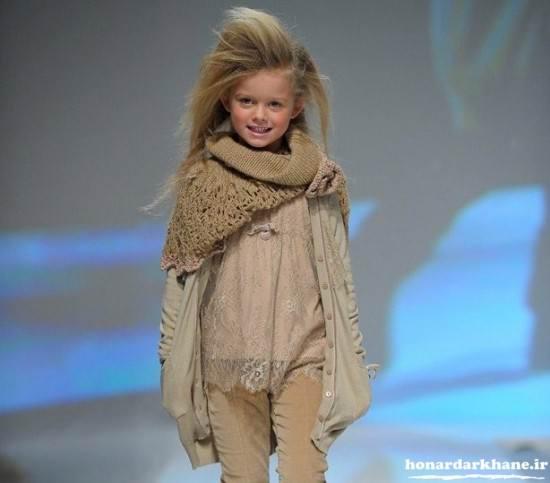 لباس مجلسی پاییزی بچگانه