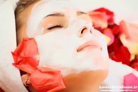 ماسک ماست برای پوست های چرب