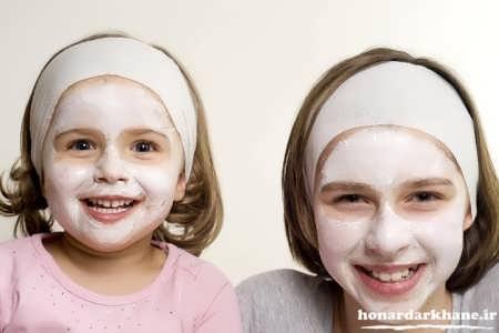 ماسک صورت با ماست