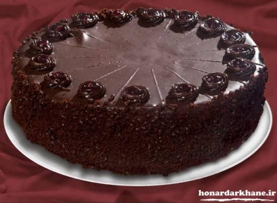 پخت کیک شکلاتی