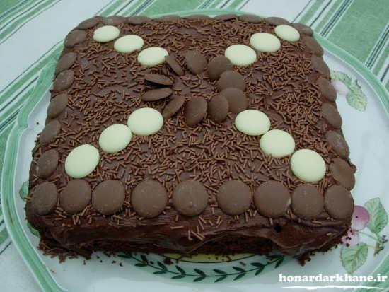 کیک شکلاتی خوشمزه و عالی