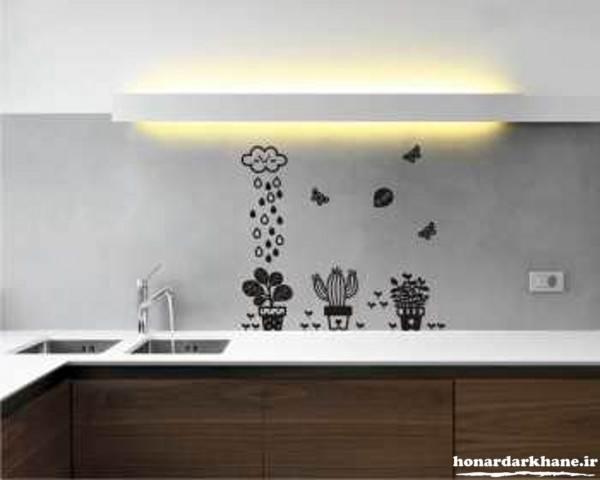 تزیین جدید دیوار آشپزخانه