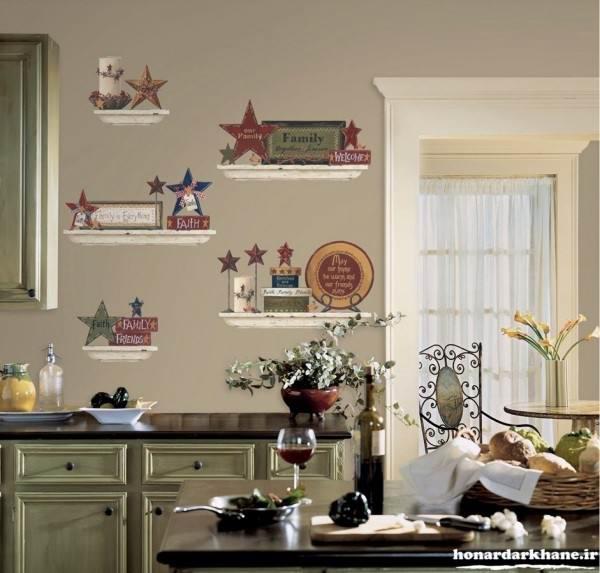 تزیین دیوار آشپزخانه