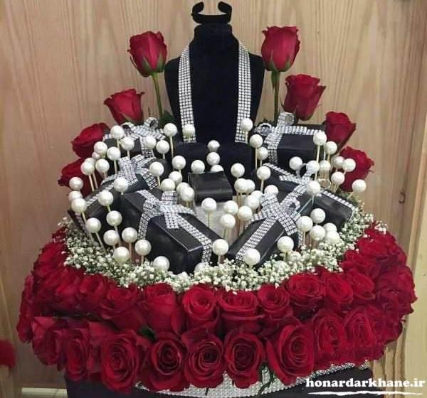 تزیین زیبای کادو برای عروس