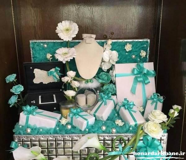 تزیین زیبای کادوی عروس