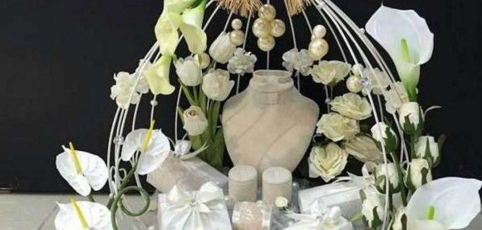 تزیین کادو عروس و داماد