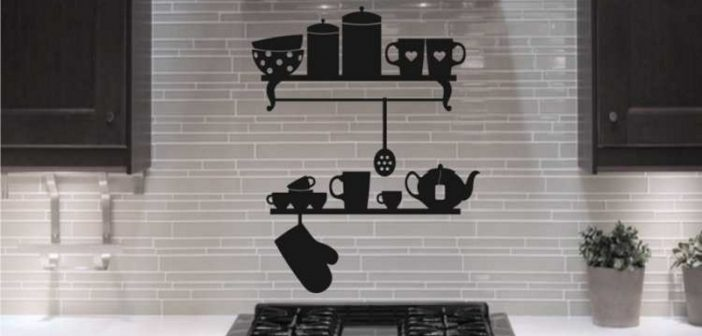 تزیین دیوار آشپزخانه با ایده های جدید و خلاقانه
