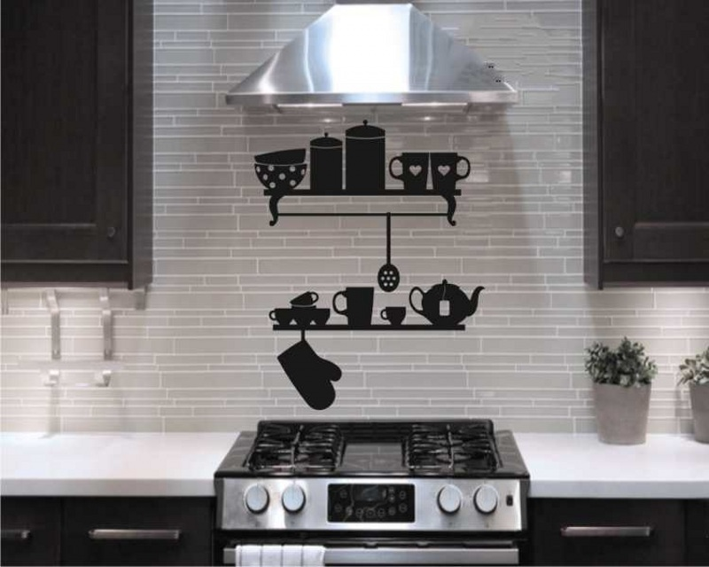تزیین مانتو ساده تزیین دیوار آشپزخانه با ایده های جدید و خلاقانه