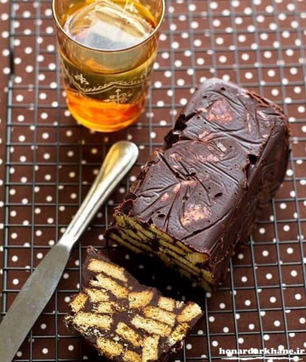 طرز تهیه دسر شکلاتی