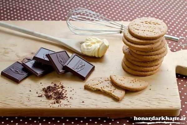 طرز تهیه دسر شکلاتی ساده