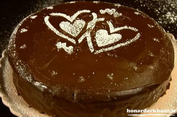 مدل تزیین کیک ساده
