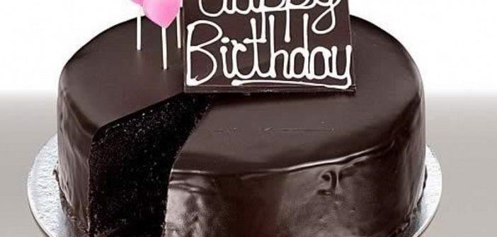 مدل نزیین کیک با گاناش