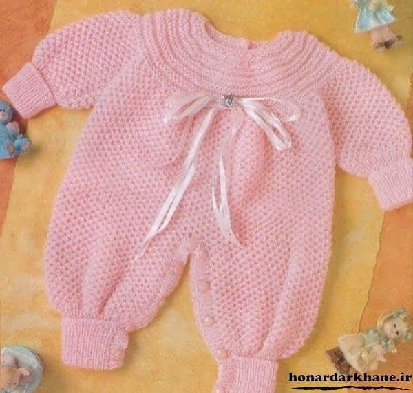 لباس بافتنی نوزاد پسر