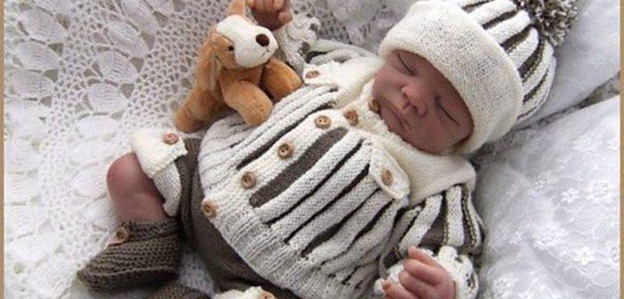 مدل بافتنی نوزاد دختر و پسر با طرح های شیک و جدید