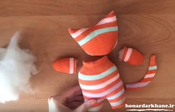 مدل عروسک جورابی کودکانه