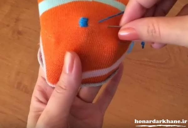آموزش دوخت عروسک با پارچه