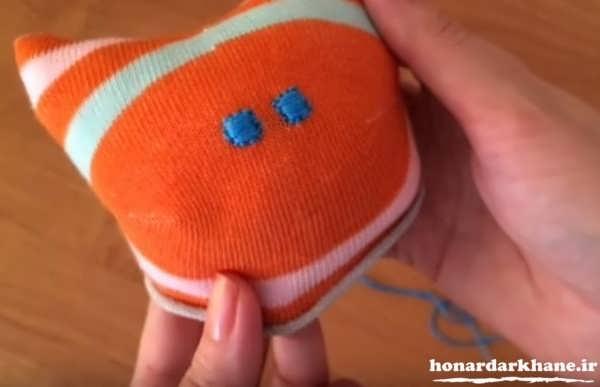 آموزش عروسک با جوراب