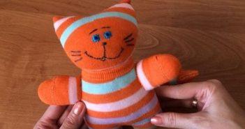 ساخت عروسک با جوراب