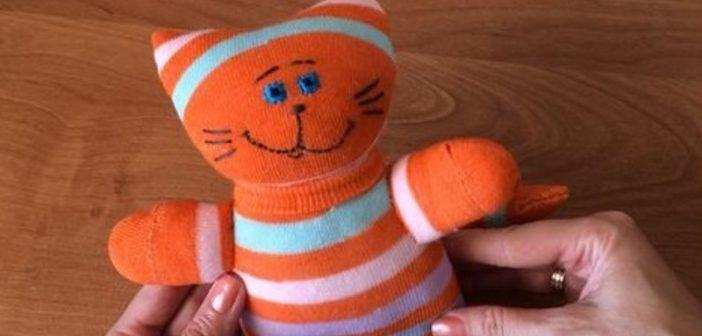 آموزش ساخت عروسک با جوراب بچه گانه برای کودکان
