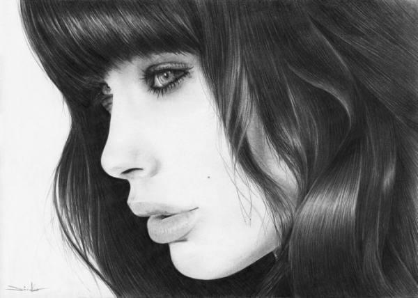 مدل نقاشی از چهره