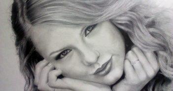 مدل نقاشی سیاه قلم چهره
