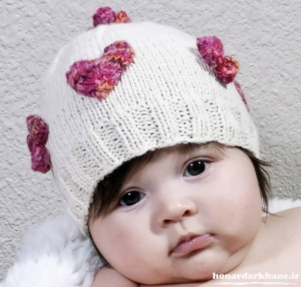 مدل کلاه بافتنی کودکان