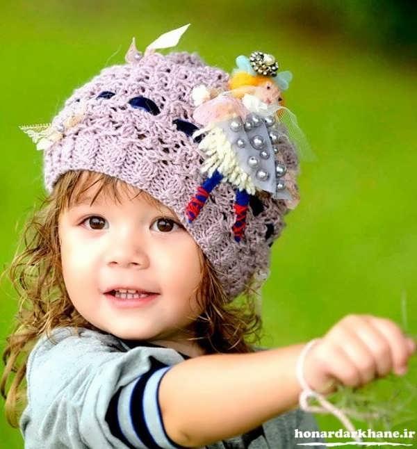 مدل های کلاه بافتنی جدید
