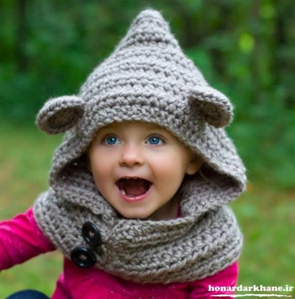 مدل کلاه بافتنی زیبا و جدید
