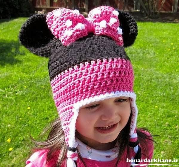مدل کلاه های بافتنی بچه گانه